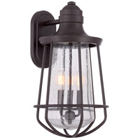 Quoizel MRE8410WT Marine 3 Light 20 inch Western Bronze Outdoor Wall Lantern