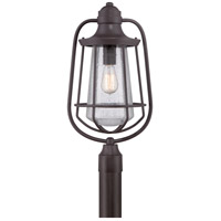 Quoizel Lighting Marine 1 Light Post Lantern in Western Bronze MRE9009WT