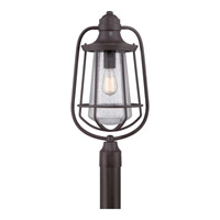 Quoizel Marine 1 Light Outdoor Post Lantern in Western Bronze MRE9009WTFL