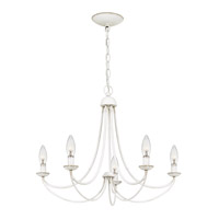 Quoizel MRN5005AWH Mirren 5 Light 21 inch Antique White Chandelier Ceiling Light alternative photo thumbnail