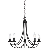 Quoizel MRN5005IB Mirren 5 Light 21 inch Imperial Bronze Chandelier Ceiling Light