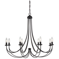 Quoizel MRN5008IB Mirren 8 Light 32 inch Imperial Bronze Chandelier Ceiling Light