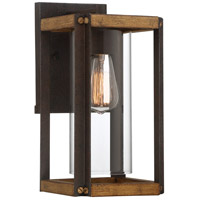 Quoizel MSQ8407RK Marion Square 1 Light 13 inch Rustic Black Outdoor Wall Lantern
