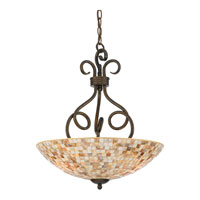 Quoizel MY2816ML Monterey Mosaic 3 Light 18 inch Malaga Pendant Ceiling Light alternative photo thumbnail
