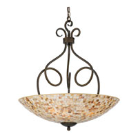 Quoizel Lighting Monterey Mosaic 4 Light Pendant in Malaga MY2824ML