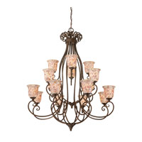 Quoizel Monterey Mosaic 16 Light Foyer Chandelier in Malaga MY5016ML