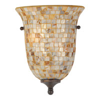 Monterey Mosaic 2 Light 9 inch Malaga Wall Sconce Wall Light