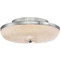 Quoizel MYS1616C Moon Rays LED 16 inch Polished Chrome Flush Mount Ceiling Light