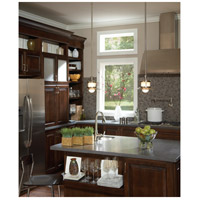 Quoizel Lighting New England 1 Light Mini Pendant in Brushed Nickel NA1510BN alternative photo thumbnail