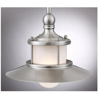 Quoizel NA1510BN New England 1 Light 10 inch Brushed Nickel Mini Pendant Ceiling Light alternative photo thumbnail