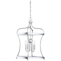 Nobility 4 Light 14 inch Polished Chrome Foyer Piece Ceiling Light