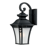 Quoizel Lighting Norfolk 1 Light Outdoor Wall Lantern in Mystic Black NF8408K photo thumbnail