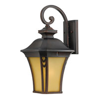 Quoizel Lighting Norfolk 1 Light Outdoor Wall Lantern in Terra Bronze NF8410TB photo thumbnail