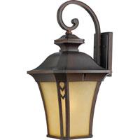 Quoizel Lighting Norfolk 1 Light Outdoor Wall Lantern in Terra Bronze NF8412TB photo thumbnail