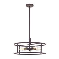 Quoizel NHR2820WT New Harbor 5 Light 20 inch Western Bronze Pendant Ceiling Light