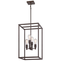 Quoizel New Harbor 4 Light Foyer Chandelier in Western Bronze NHR5204WT