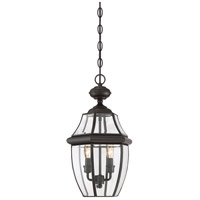Quoizel Lighting Newbury 2 Light Outdoor Hanging Lantern in Medici Bronze NY1178Z