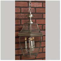 Newbury 4 Light 16 inch Pewter Outdoor Hanging Lantern