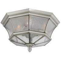 Newbury 3 Light 15 inch Pewter Outdoor Hanging Lantern