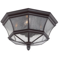 Newbury 3 Light 15 inch Medici Bronze Outdoor Hanging Lantern