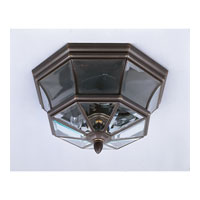 Quoizel NY1794Z Newbury 3 Light 15 inch Medici Bronze Outdoor Semi-Flush Mount alternative photo thumbnail