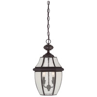 Newbury 2 Light 11 inch Medici Bronze Outdoor Hanging Lantern