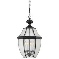 Quoizel NY1916K Newbury 4 Light 16 inch Mystic Black Outdoor Hanging Lantern