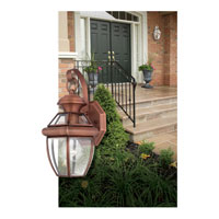 Quoizel NY8315AC Newbury 1 Light 13 inch Aged Copper Outdoor Wall Lantern in Standard alternative photo thumbnail