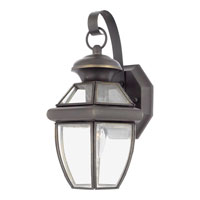 Quoizel NY8315Z Newbury 1 Light 13 inch Medici Bronze Outdoor Wall Lantern in Standard alternative photo thumbnail