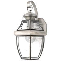 Quoizel Lighting Newbury 1 Light Outdoor Wall Lantern in Pewter NY8316P