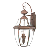 Quoizel NY8317AC Newbury 2 Light 20 inch Aged Copper Outdoor Wall Lantern  alternative photo thumbnail