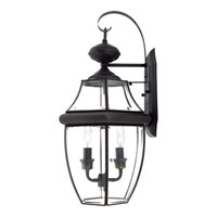 Quoizel Lighting Newbury 2 Light Outdoor Wall Lantern in Medici Bronze NY8317Z alternative photo thumbnail