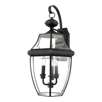 Quoizel NY8318Z Newbury 3 Light 23 inch Medici Bronze Outdoor Wall Lantern alternative photo thumbnail