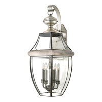 Quoizel NY8339P Newbury 4 Light 29 inch Pewter Outdoor Wall Lantern alternative photo thumbnail