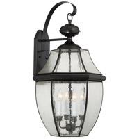 Quoizel NY8416K Newbury 4 Light 29 inch Mystic Black Outdoor Wall Lantern