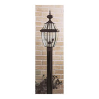 Quoizel NY9042K Newbury 2 Light 21 inch Mystic Black Outdoor Post Lantern alternative photo thumbnail