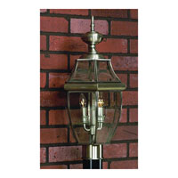 Quoizel NY9042P Newbury 2 Light 21 inch Pewter Outdoor Post Lantern alternative photo thumbnail