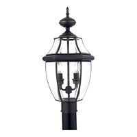 Quoizel NY9042Z Newbury 2 Light 21 inch Medici Bronze Outdoor Post Lantern alternative photo thumbnail