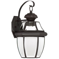 Quoizel NYCL8409Z Newbury Clear LED 14 inch Medici Bronze Outdoor Wall Lantern alternative photo thumbnail
