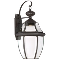 Quoizel NYCL8411Z Newbury Clear LED 20 inch Medici Bronze Outdoor Wall Lantern