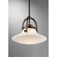 Quoizel Lighting Olympia 1 Light Mini Pendant in Palladian Bronze OA1512PN alternative photo thumbnail