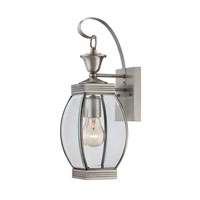 Quoizel Lighting Oasis 1 Light Outdoor Wall Lantern in Pewter OAS8406P