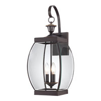 Quoizel OAS8409Z Oasis 3 Light 23 inch Medici Bronze Outdoor Wall Lantern alternative photo thumbnail
