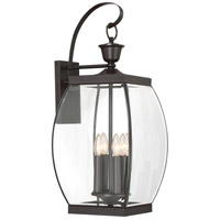 Quoizel Lighting Oasis 4 Light Outdoor Wall Lantern in Medici Bronze OAS8411Z