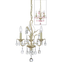 Quoizel Lighting Ophelia 3 Light Chandelier in Antique Ivory OE5003AY