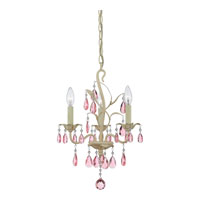 Quoizel Lighting Ophelia 3 Light Chandelier in Antique Ivory OE5003AY alternative photo thumbnail