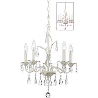 Quoizel Lighting Ophelia 5 Light Chandelier in Antique Ivory OE5005AY