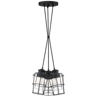 Olson 3 Light 11 inch Earth Black Pendant Ceiling Light