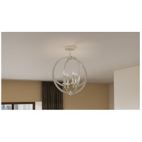 Quoizel On1718bn Orion 4 Light 18 Inch Brushed Nickel Semi Flush Mount Ceiling Light