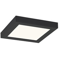 Quoizel OST1608EK Outskirts LED 8 inch Earth Black Flush Mount Ceiling Light